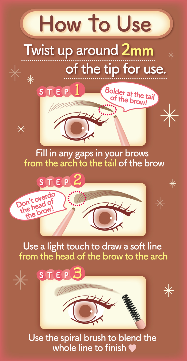 Perfect Airy Eyebrow | CANMAKE